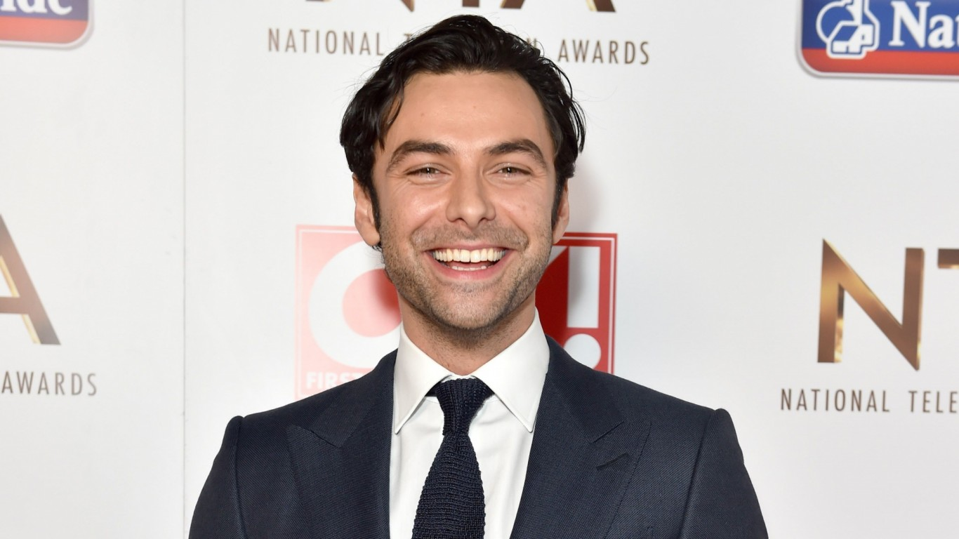 Poldark star Aidan Turner hoping for success at National Television Awards