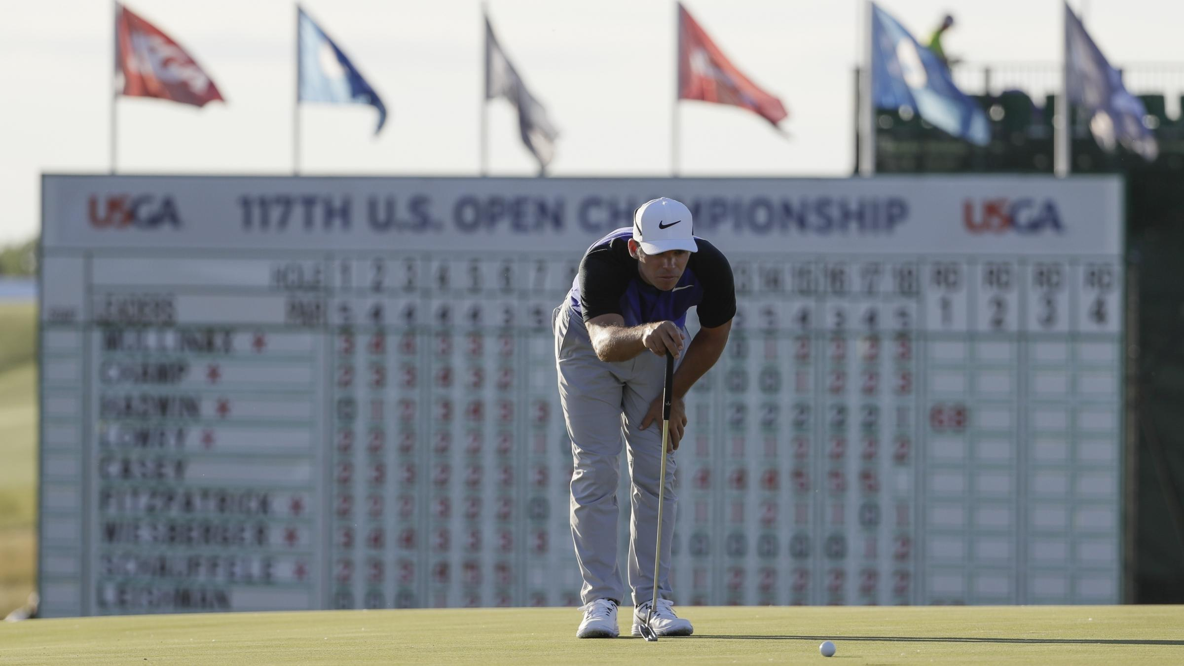 Kentuckian Justin Thomas uses record round to grab US Open lead